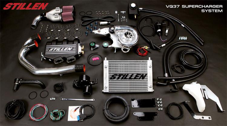 Stillen Nissan 370Z Supercharger