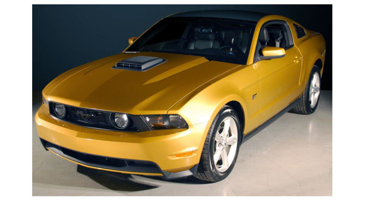 Ford Mustang Shaker Hood Scoop Kit