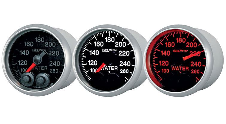 Autometer Competition Series Gauges