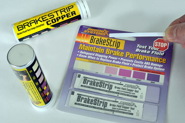 Brake Fluid Test Strip