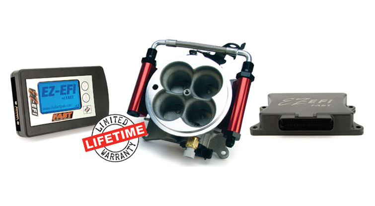FAST EZ-EFI Self-Tuning Fuel Injection Conversion