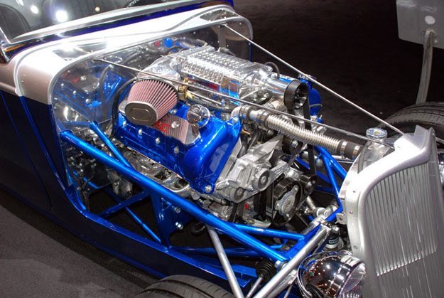 Factory Five Hot Rod Engine