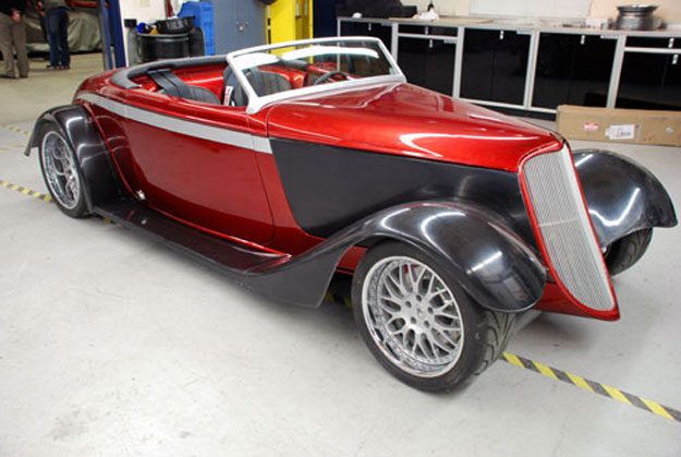 Factory Five '33 Hot Rod Roadster Fender Kit