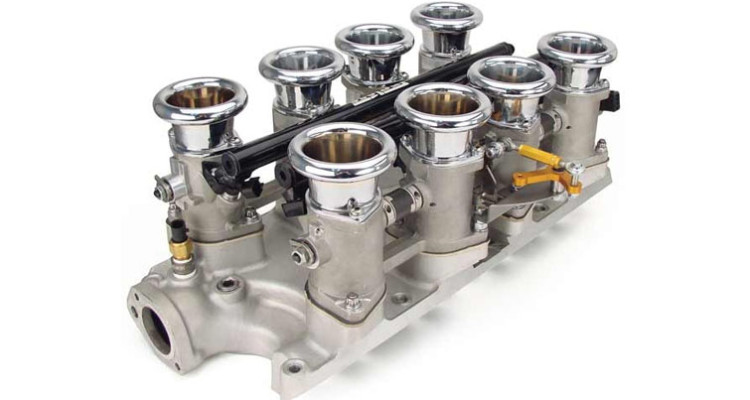 Inglese Small Block Ford 8 Stack EFI Induction
