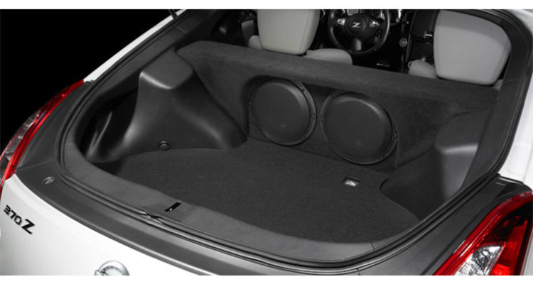 JL Audio Nissan 370Z Stealthbox