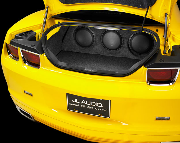 JL Audio Chevy Camaro Subwoofer Enclosure