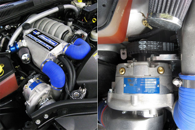 Jeep SRT8 Supercharger Kit