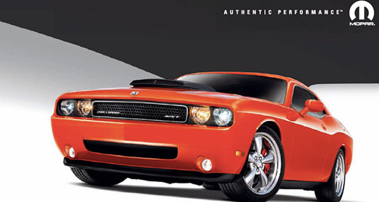 Mopar Dodge Challenger Performance Parts