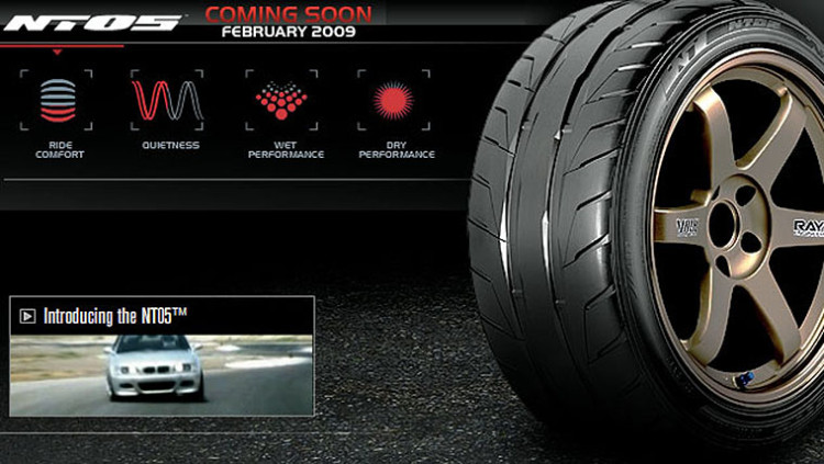 Nitto NT05 Max Performance Summer Tire