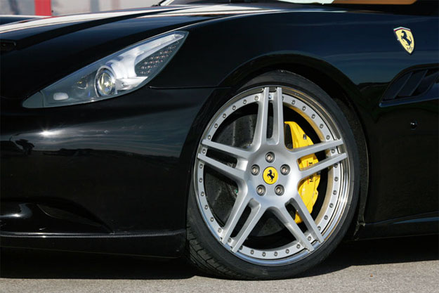 Novitec Ferrari California Wheel Upgrade