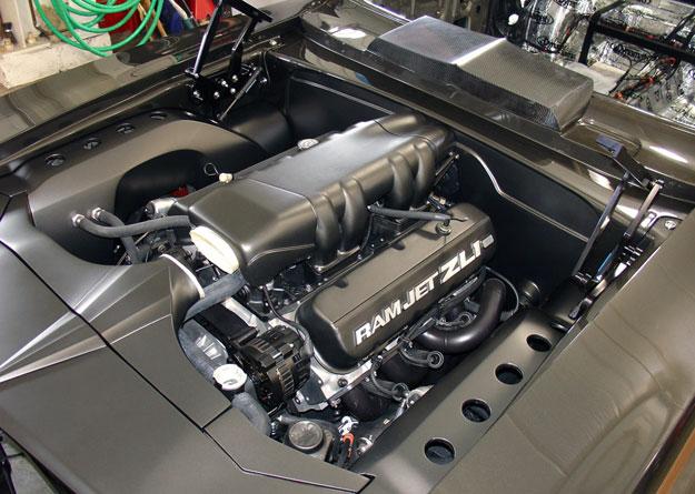 Ringbrothers Razor Camaro Engine