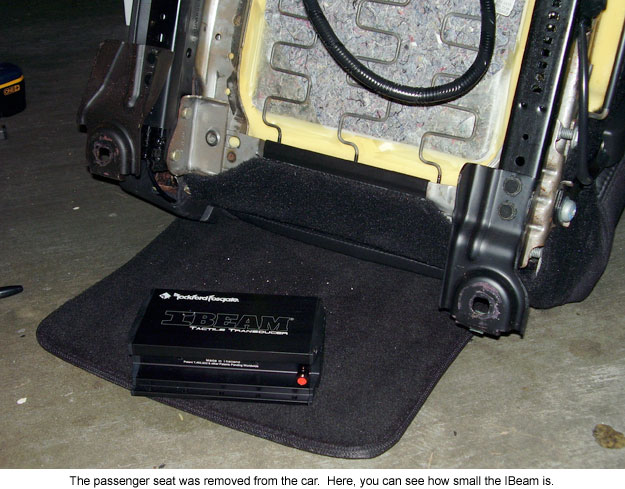 review rockford fosgate ibeam tactile transducer motorator. Black Bedroom Furniture Sets. Home Design Ideas