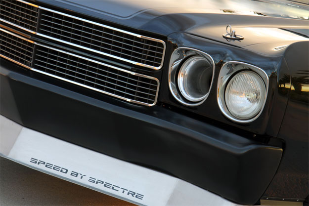 Spectre Headlight Ram Air Intake Kit