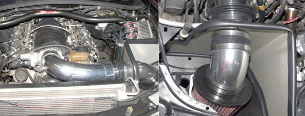 Pontiac G8 and GTO Cold-Air Intake