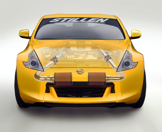 Stillen Nissan 370Z Cold-Air Kit