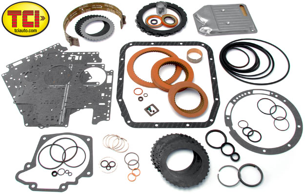 1980-1993 Ford AOD Ultimate Master Overhaul Kit
