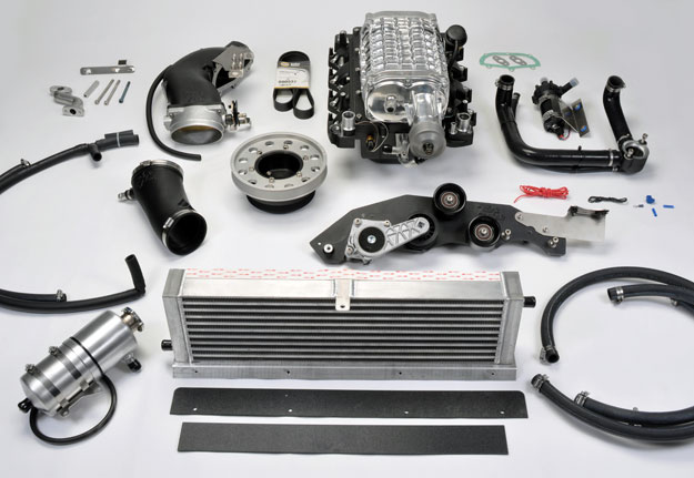 SN95 Mustang Supercharger System