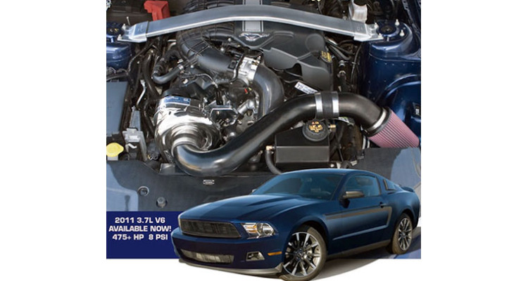 Mustang V6 Supercharger
