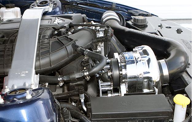 Mustang 3.7L V6 Supercharger