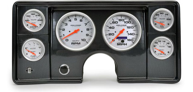 1964-1966 Chevrolet Trucks Replacement Gauge Cluster