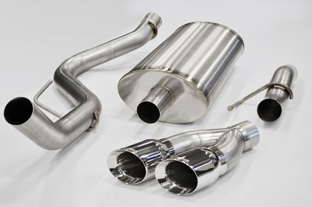 2010-2011 Ford Raptor Corsa Exhaust