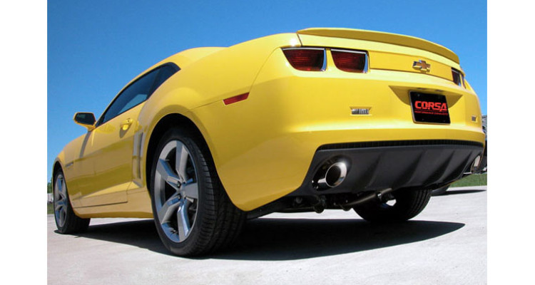 Chevy Camaro V6 Cat-Back Exhaust