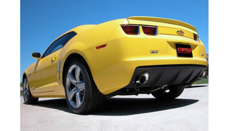 Chevy Camaro V6 Cat-Back Exhaust