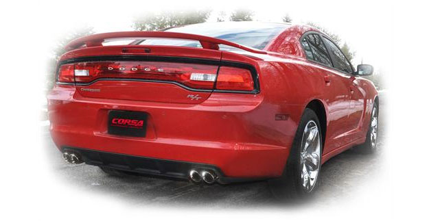 Corsa Performance Dodge Charger Cat-Back Exhaust