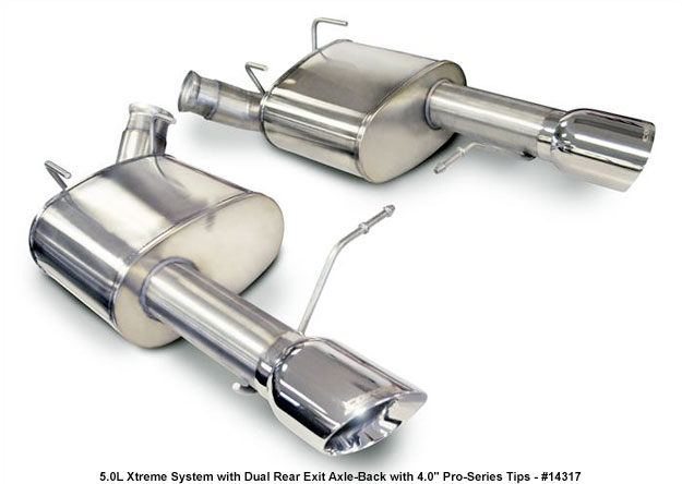 Mustang 5.0 Corsa Xtreme Exhaust
