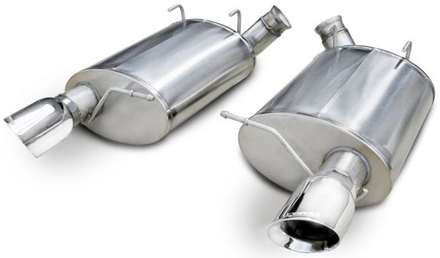 Shelby GT500 Corsa Performance Exhaust