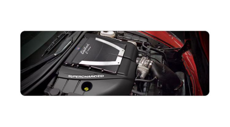 Edelbrock E-Force Supercharger kits for the C6 Corvette
