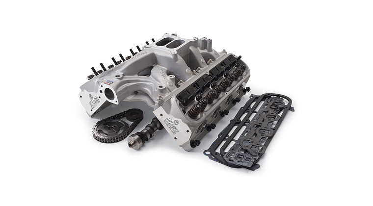 Edelbrock E-Street Power Package Top End Kits Bring Power to