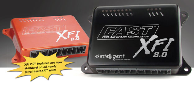 FAST XFI Intelligent Fuel Injection with Traction Control