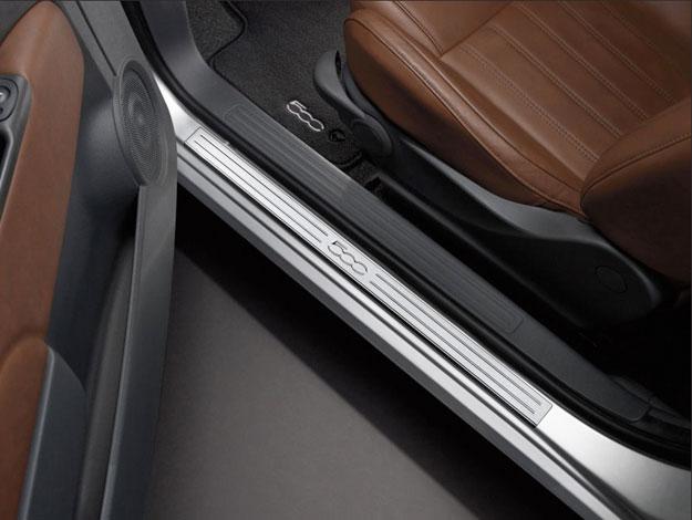 Fiat 500 Door Sill Guard Plate
