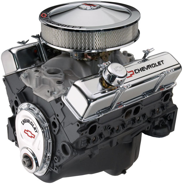350 Chevy Engine Kit: Attractive And Affordable Chevrolet Perforrmance Parts 350