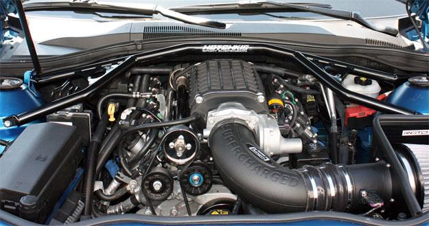 2010-2014 Chevy Camaro Chassis Stiffening