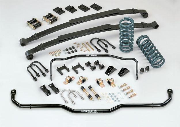 1967-1969 Camaro Firebird Performance Suspension Upgrade