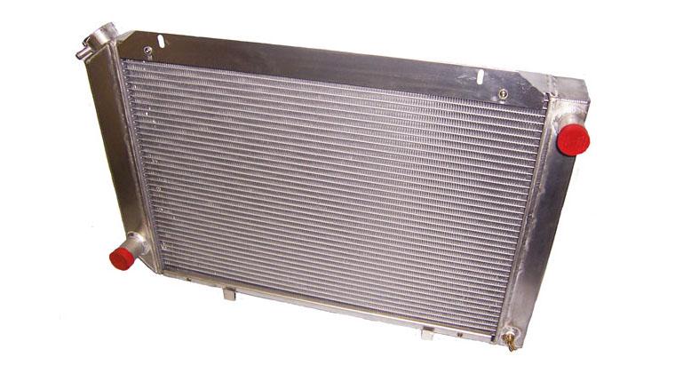 Mark 7 Custom Aluminum Radiators for Fox Body 5 0 Mustangs