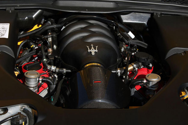 Maserati Supercharger System