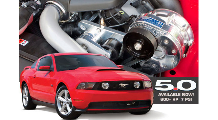 2011-2014 Mustang Supercharger System