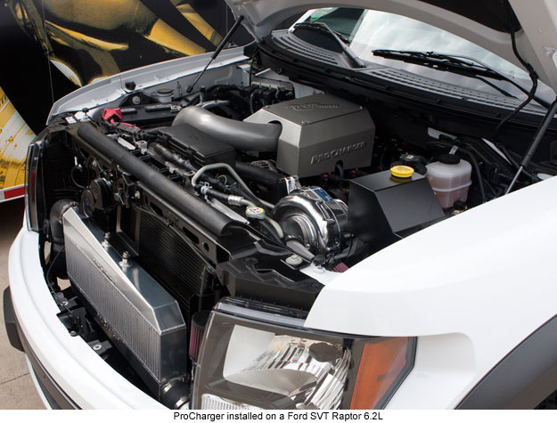 2010-2014 Ford Raptor Procharger Supercharger System