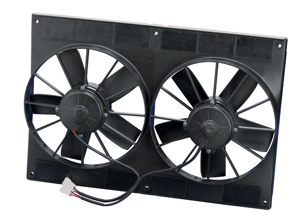 Ford Mustang Electric Cooling Fans Conversion Kit