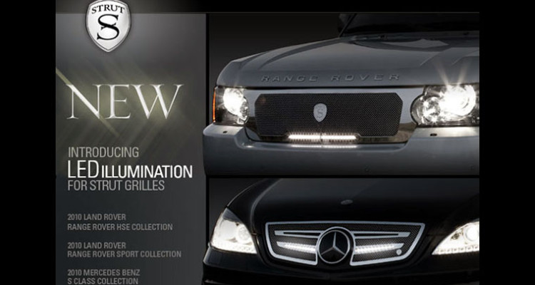 Strut LED Grill Collection