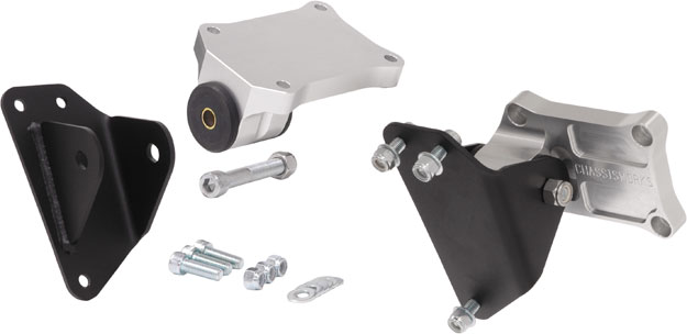 Billet Chevy LS and Small Block Motor Mounts