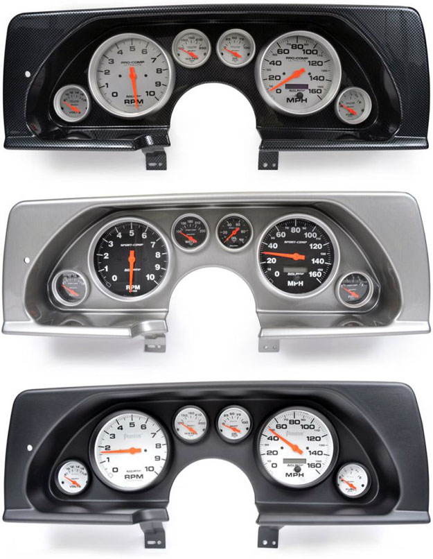 composite instrument panels for 1990