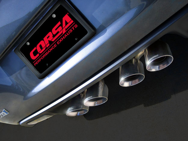 Corsa Performance Exhaust System for 2006-2013 Corvette ZR1