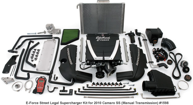Edelbrock 2010-2014 Camaro Supercharger Manual Transmission
