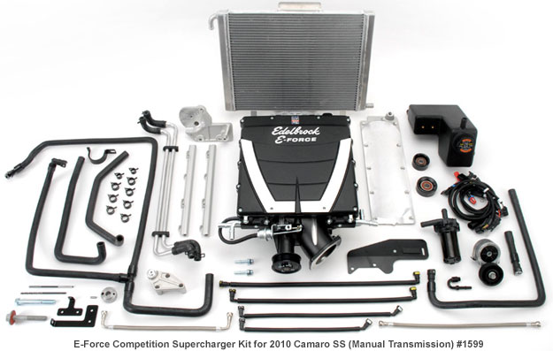 Edelbrock 2010-2014 Camaro Supercharger Competition Kit