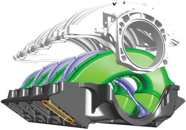 GM LS3 Intake Manifold
