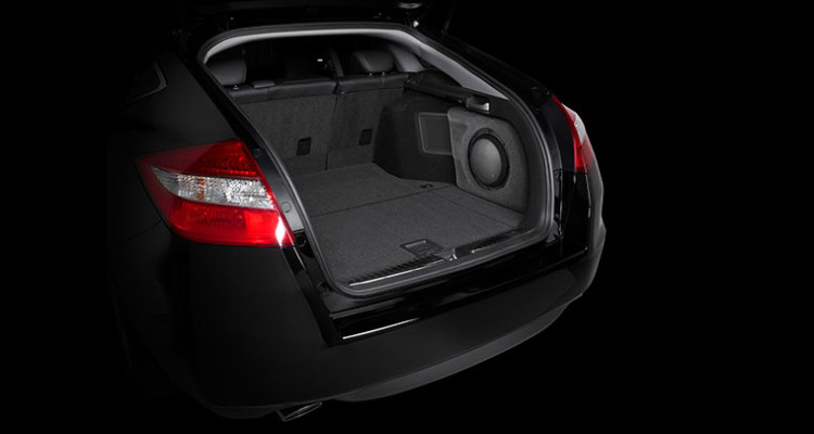 JL Audio Honda Crosstour Stealthbox Subwoofer
